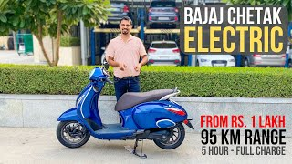 Bajaj Chetak Electric Launched In India At Rs. 1 Lakh - Detailed Walkaround