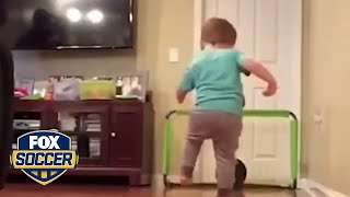 This two-year-old has some real skills | @TheBuzzer | FOX SOCCER