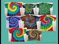 The Mystical Magical Tie Dye Spiral ~ 1 Twist ~ 8 Tees
