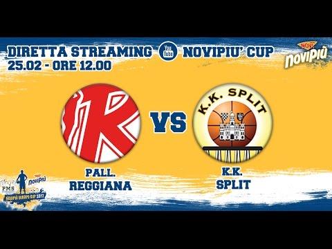 [Novipiù Europe Cup 2017 - Group B] Pallacanestro Reggiana - KK Split LIVE