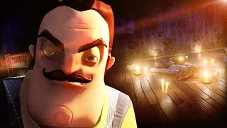 NO WAY.. WE ACTUALLY GOT IN THE BASEMENT!!? || Hello Neighbor BASEMENT ENDING (Alpha 2)