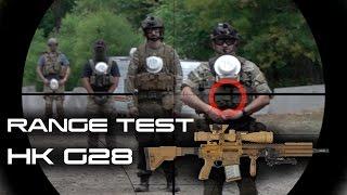 Limited Edition Elite Force HK G28 Range Test ( Slow Motion)