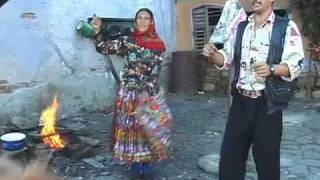 Dancing Gypsies in Transylvania