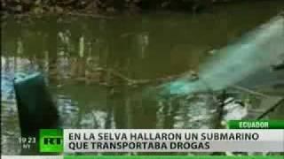Capturan en Ecuador un 'narcosubmarino' capaz de cruzar el océano