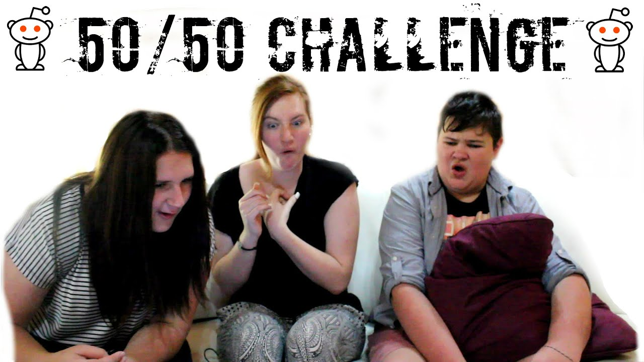 redit 50/50 challenge