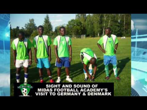 Sight and sound of Midas Football Academy visit to Germany and Denmark