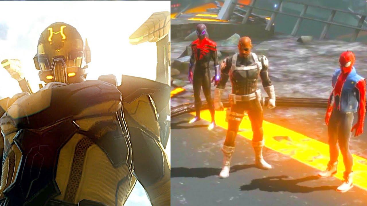 Spider Men Capture Evil Ant man - New marvel Avengers Game 2021