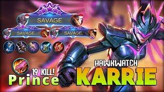 SAVAGE! SAVAGE! SAVAGE!! Lightwheel Mark True Damage by P r i n c e ~ Mobile Legends