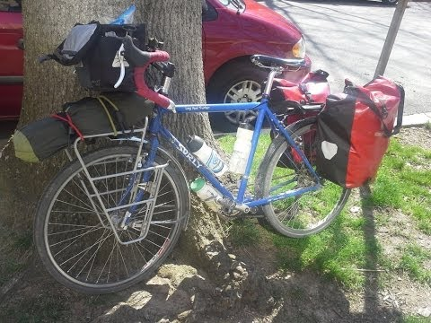 Long distance bicycle touring equipment list