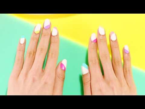 Geometric Nail Art Tutorial by Sally Hansen thumbnail