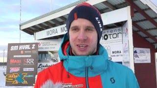 Viktor Hertén vinnare av Open vid SM i Skotercross 2 Mora