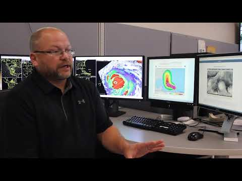 Latest Hurricane Irma outlook with National Weather Service  Meteorologist Steve Pfaff