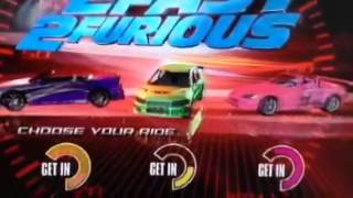 2 fast 2 furious intro
