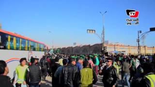 أجواء ما قبل مباراة «المصري وإيفاني النيجيري» باستاد الإسماعيلية