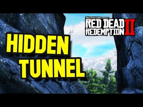 The Hidden Tunnel Mystery?! (Red Dead Redemption 2 Easter Eggs) thumbnail