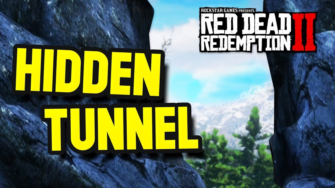 The Hidden Tunnel Mystery?! (Red Dead Redemption 2 Easter Eggs)