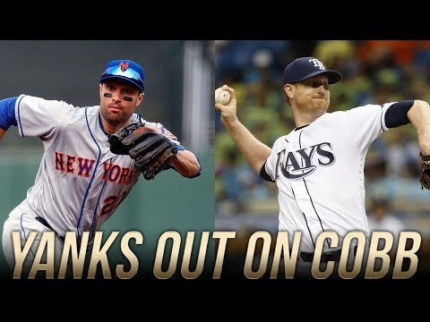 Yankees Sign Neil Walker, Skip Out on Alex Cobb. Cobb Possibly Signing With O's