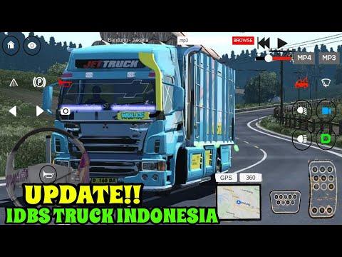 UPDATE MAKIN BAGUS ADA TV NYA / IDBS TRUCK INDONESIA