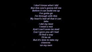 Elliot Yamin - My chance (Demo) Lyrics