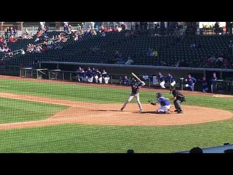 Padres SS3B Justin Lopez vs. Texas 312018