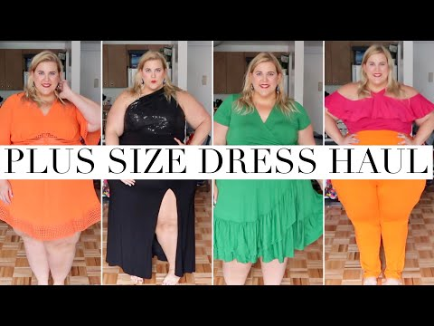 Plus Size Dresses Haul