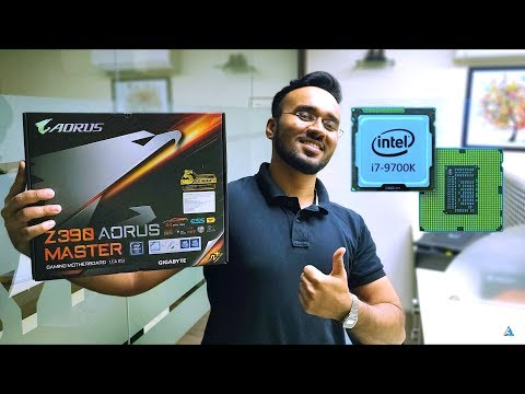 Intel Core i7 9700K REVIEW, BENCHMARKS, GAMING ft  AORUS Z390 Master