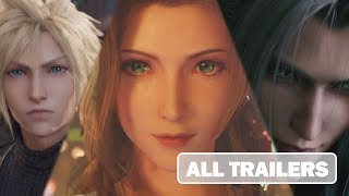 Final Fantasy 7 Remake All Trailers [HD 1080p]