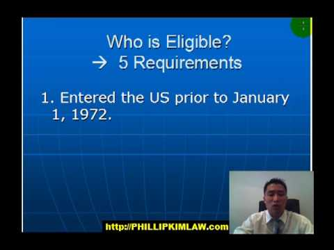 How to Get a Green Card by Registry in Fresno California - Immigration Lawyer