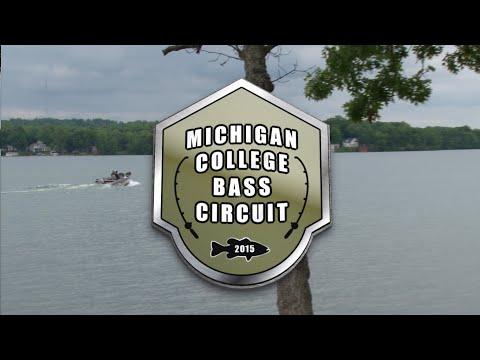 2015 MCBCtv   S2 Ep1: Gun Lake (Michigan College Bass Circuit)