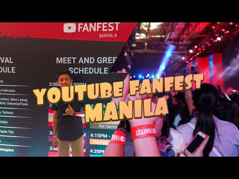 Ranz and Niana @ YouTube FanFest