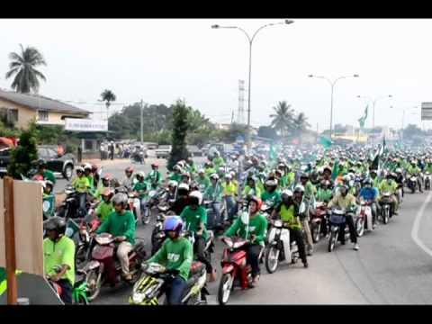 konvoi himpunan hijau tranum
