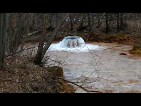 Source Of Solomon's Creek Acid Mine Drainage