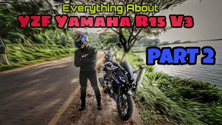 Most Powerful 150cc Bike in India (Stock) | YZF Yamaha R15 V3 | Vlog 30 | Part 2