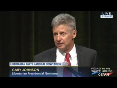 Gary Johnson Becomes The 2016 Libertarian Presidential Nominee!
