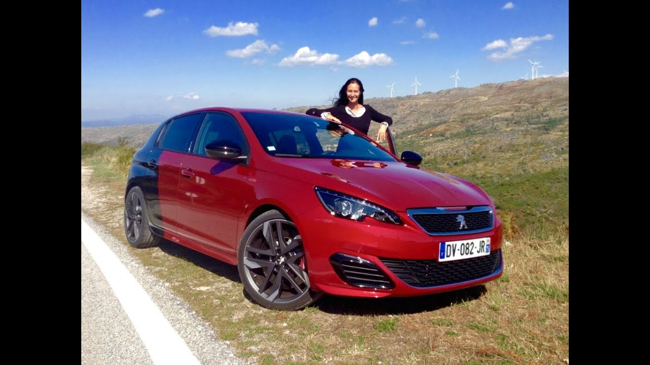 the all new 2016 peugeot 308 gti test drive youtube. Black Bedroom Furniture Sets. Home Design Ideas