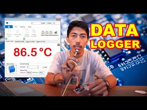 Project Monitoring dan Data Logger Suhu Delphi Arduino