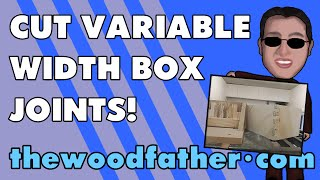 Single Blade Box (finger) Joint Jig Follow Up - Thewoodfather