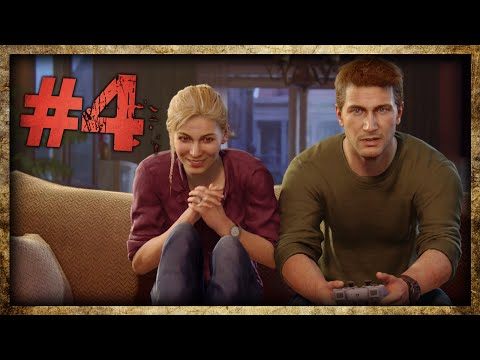 Uncharted 4: A Thief's End — A Game Within A GAME!! OMG (Part 4)