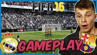 FIFA 16 GAMEPLAY (DEUTSCH) - REAL MADRID VS. FC BARCELONA EL CLASICO - FIFA 16 DEMO - RONALDO,MESSI