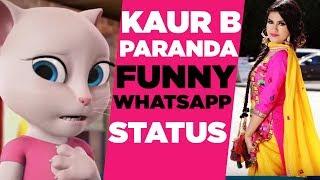 Réparation | Kaur B | Dessin Animé | Whatsapp Vidéo | Dernière Posture De Posture De Dessin Animé Vidéos