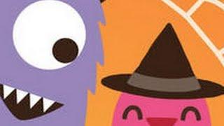 Sago Mini Monsters Halloween Part 1 - iPad app demo for kids - Philip