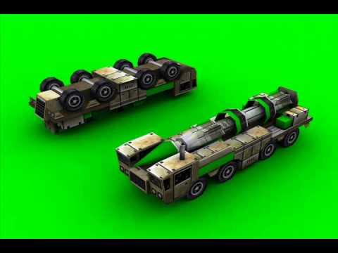 C&C Generals — SCUD Launcher Audio