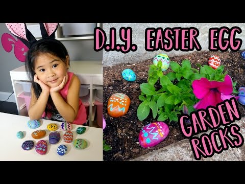 DIY Painted Garden Rocks | Easy Spring Rock Painting for Kids | Bright Garden Decor Craft Tutorial