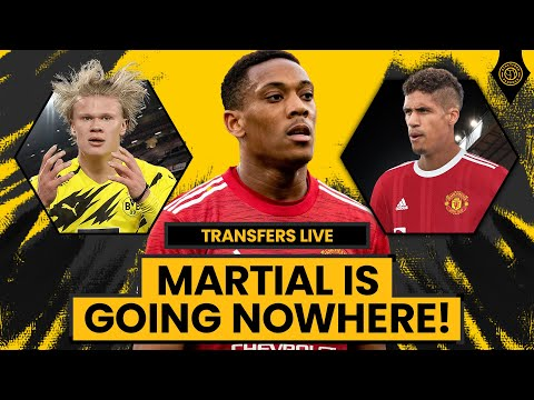 "Martial Is ""Not For Sale!""   TRANSFERS LIVE w/ @Adam McKola"