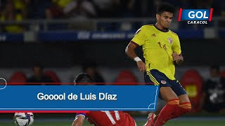Gol de Luis Díaz Colombia vs Chile - Eliminatorias Sudamericanas