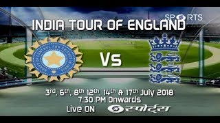 India Tour Of England | 2nd T20I | Cricket Live