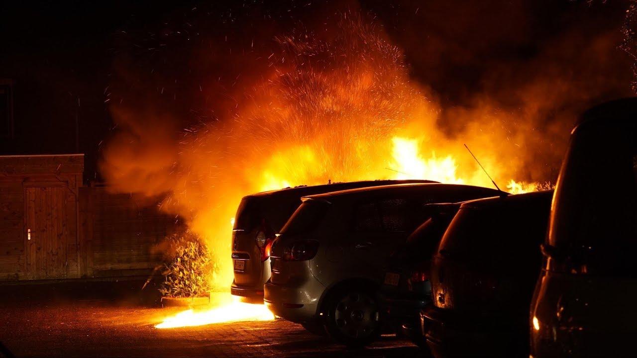 Autobranden - Straatinterviews