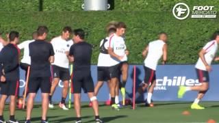 Les premiers pas de Thomas Meunier au PSG