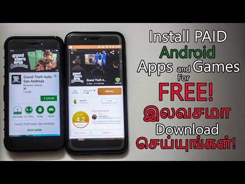 Install Paid Android Apps And Games For Free!(Tamil/தமிழ்)|Geekytamizha தமிழில்
