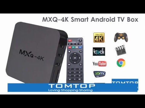 MXQ-4K Smart Android TV Box